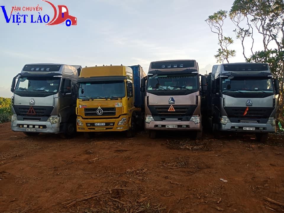 Một số tuyến vận chuyển khác cùng với chuyển hàng quá cảnh Hải Phòng - Lào