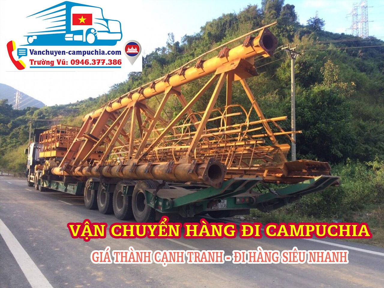 Vận chuyển hàng từ Campuchia về Việt Nam | Covid-19