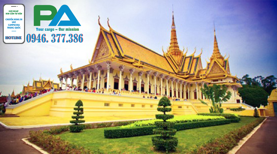Vận chuyển hàng Sài Gòn - Siem riep