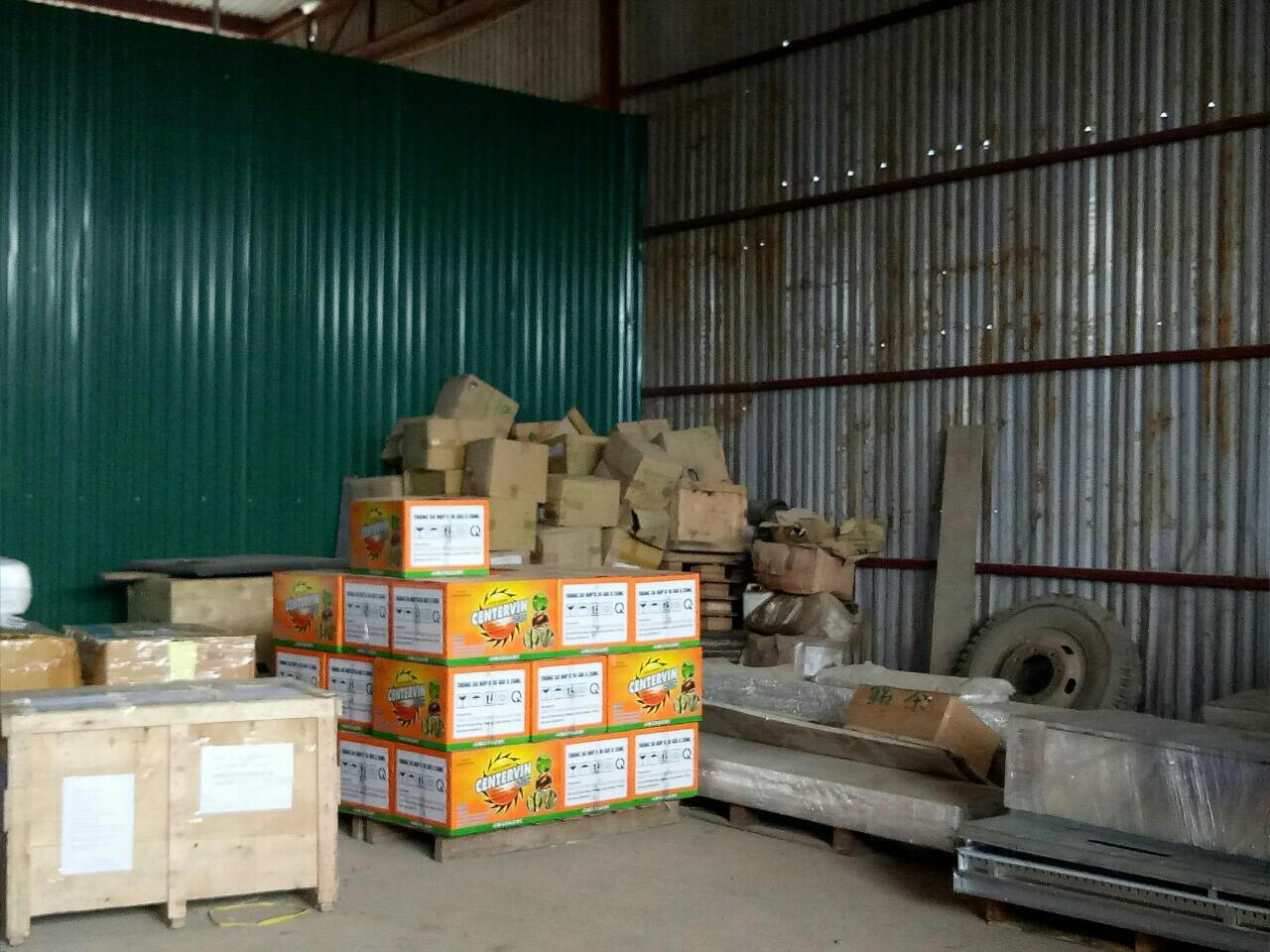 Các loại hàng hóa thường được chuyển đi Lào