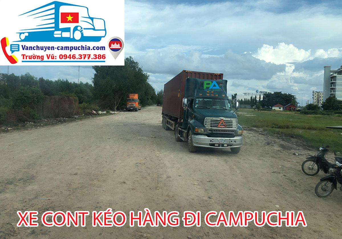 Vận chuyển hàng Bình Dương đi Phnompenh