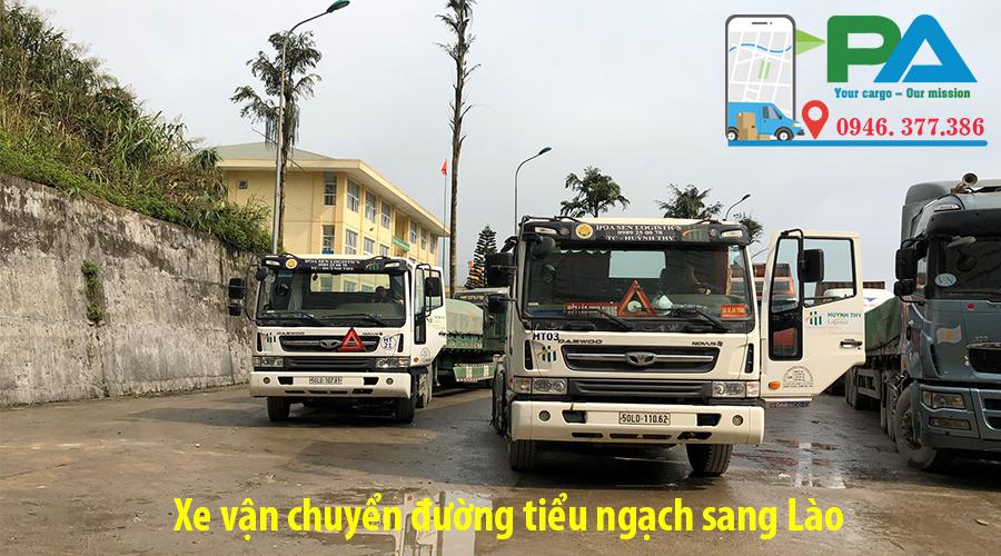 Chuyển hàng sang Lào giá rẻ | Mr Vũ 0946377386