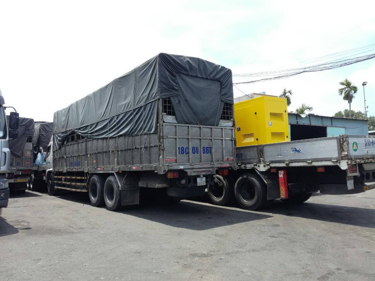 Chành xe Vận chuyển gạo từ miền tây đi Campuchia