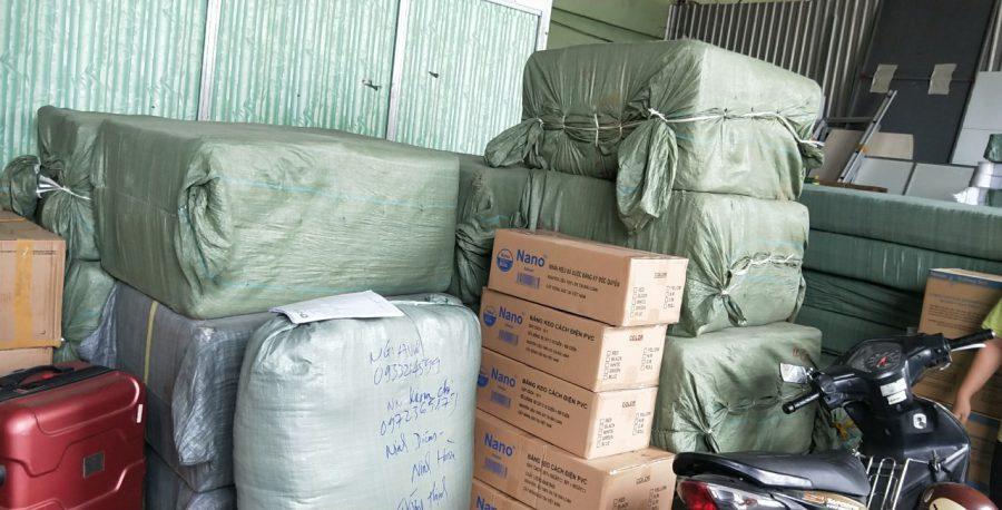 Chuyên vận chuyển hàng hóa đi Lào hotline  0969377386
