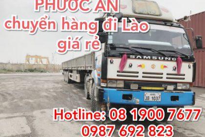 chuyển hàng đi Lào giá tốt