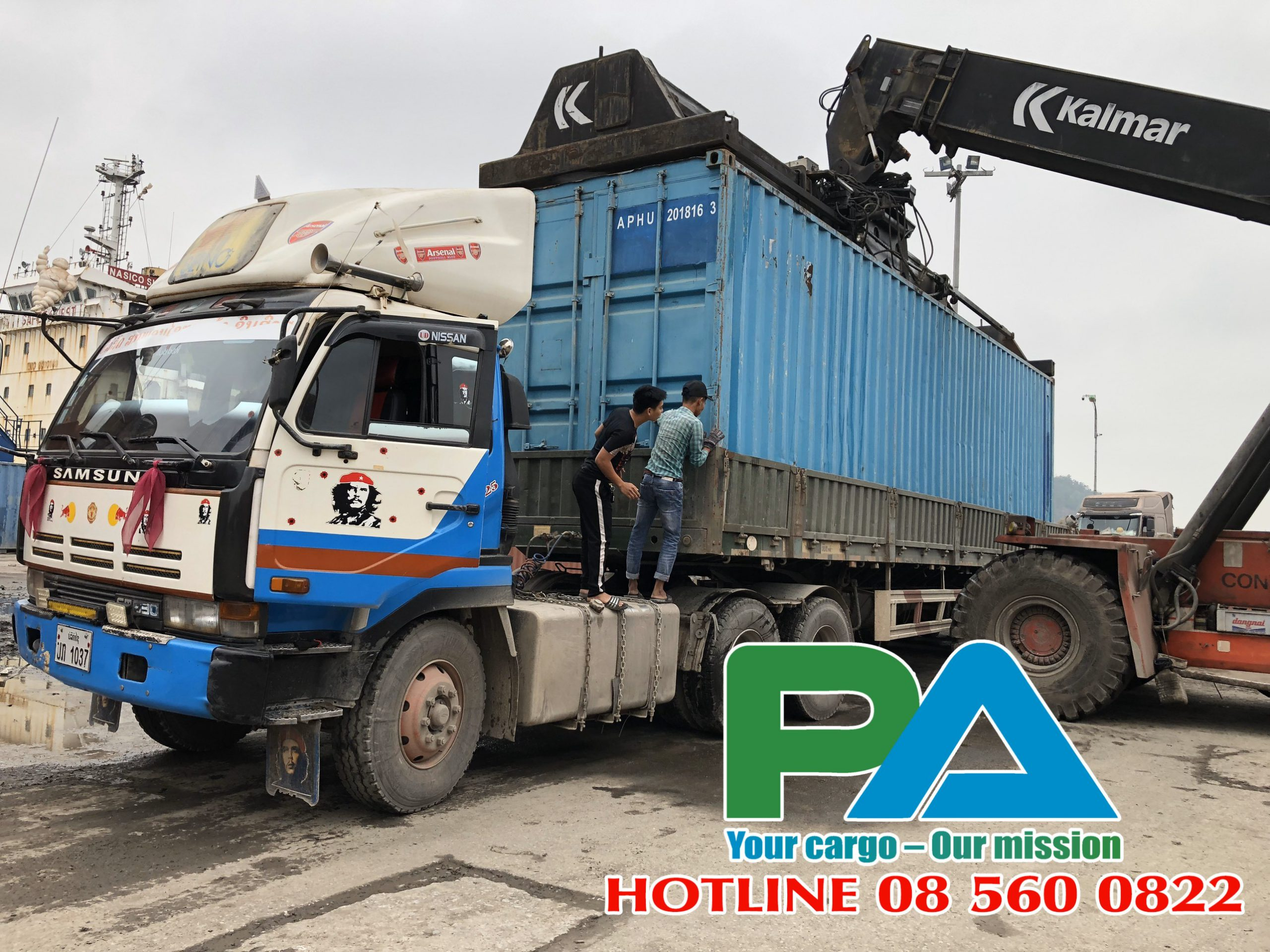 Transit shipments to Laos | cheapen and prestige| Ms Phat 0856.060.822 1