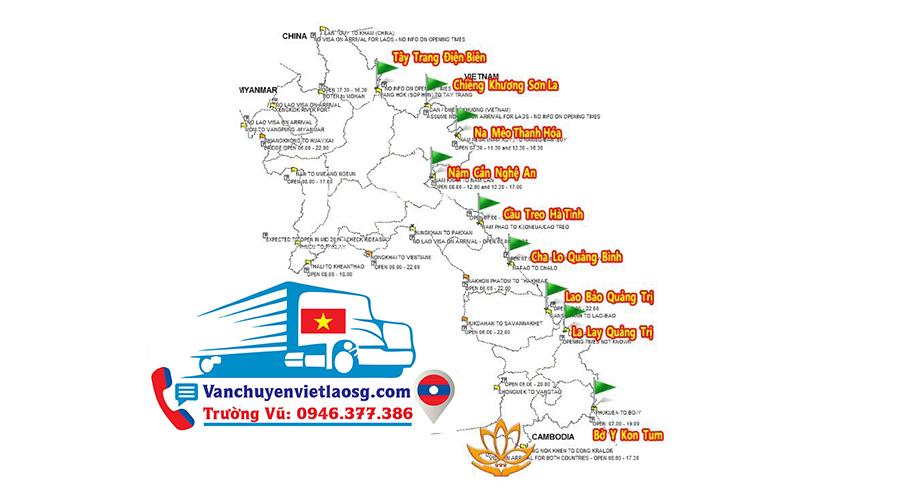 Vận chuyển hàng đi Paksong Lào | Corona - CoV19