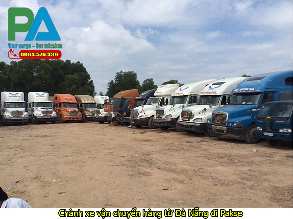 Chành xe vận chuyển hàng từ Đà Nẵng đi Pakse