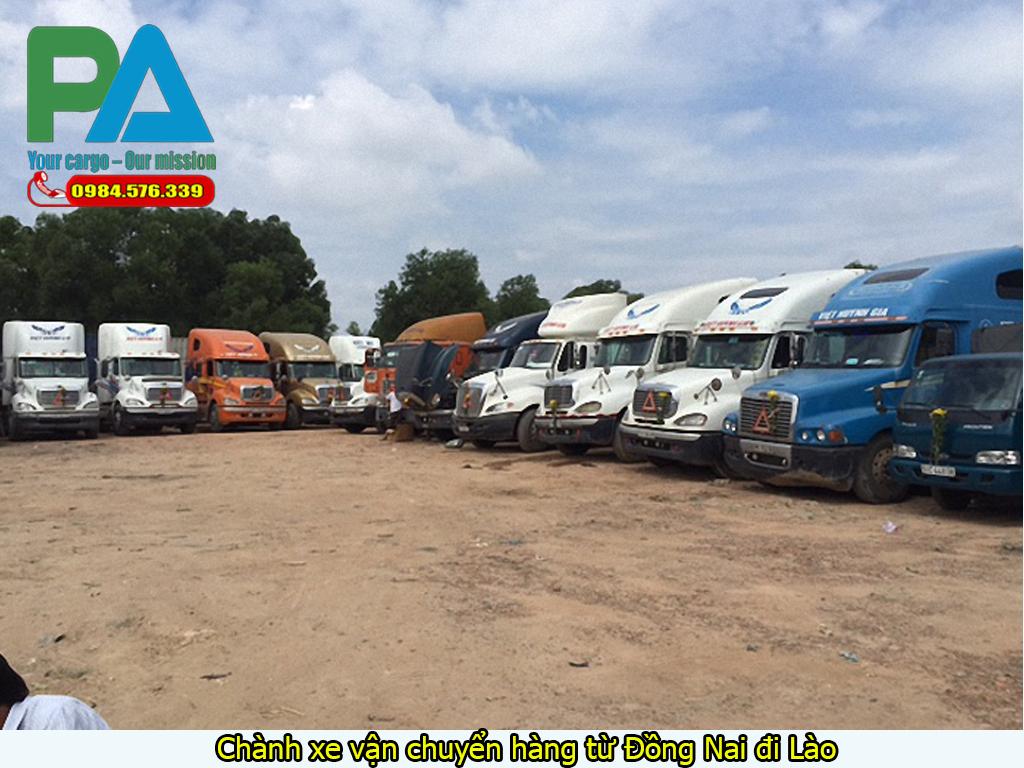 Chành xe vận chuyển hàng từ Đồng Nai đi Lào