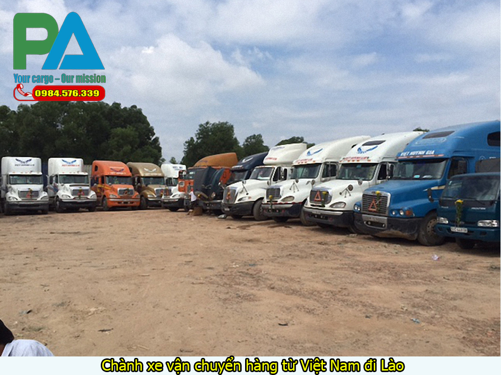 Chành xe vận chuyển hàng từ Việt Nam đi Lào