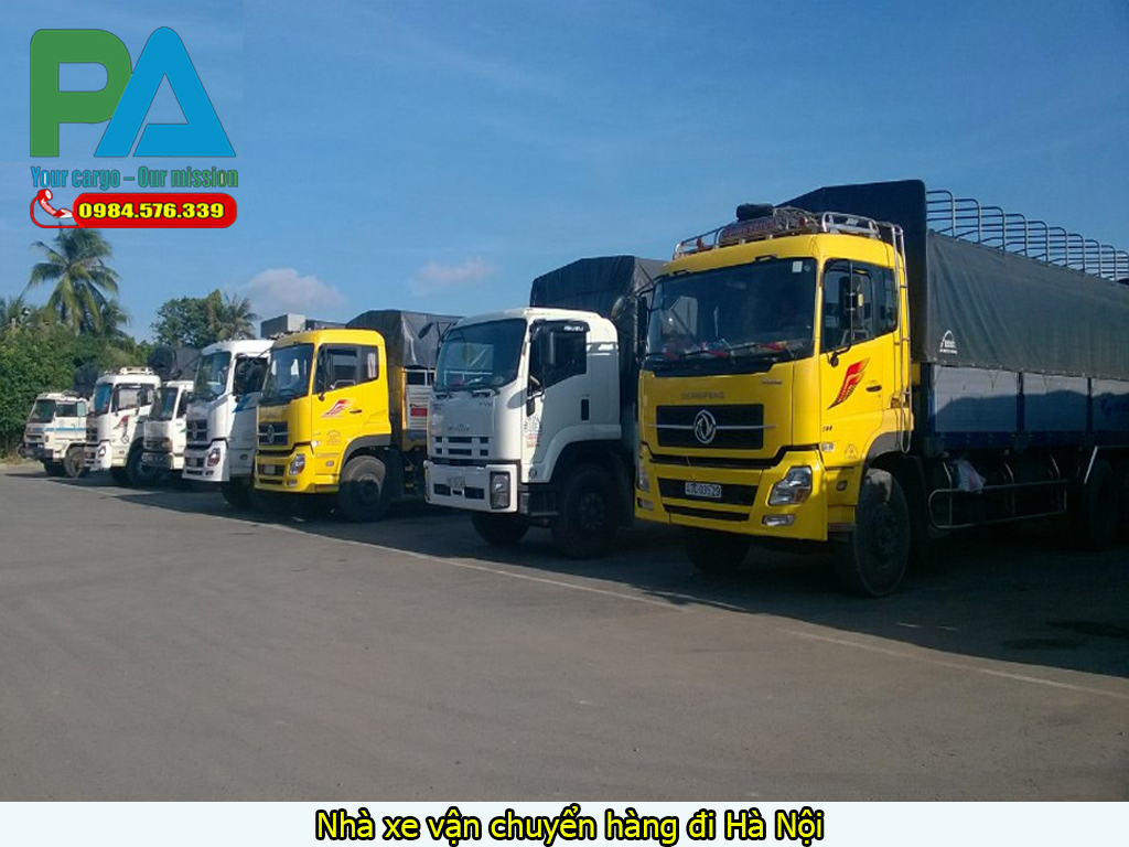 Nhà xe vận chuyển hàng đi Hà Nội