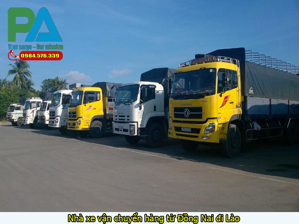 Nhà xe vận chuyển hàng từ Đồng Nai đi Lào