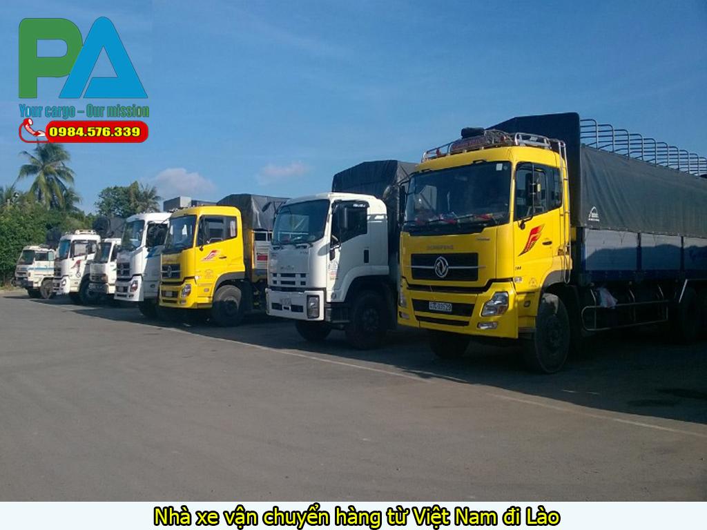 Nhà xe vận chuyển hàng từ Việt Nam đi Lào