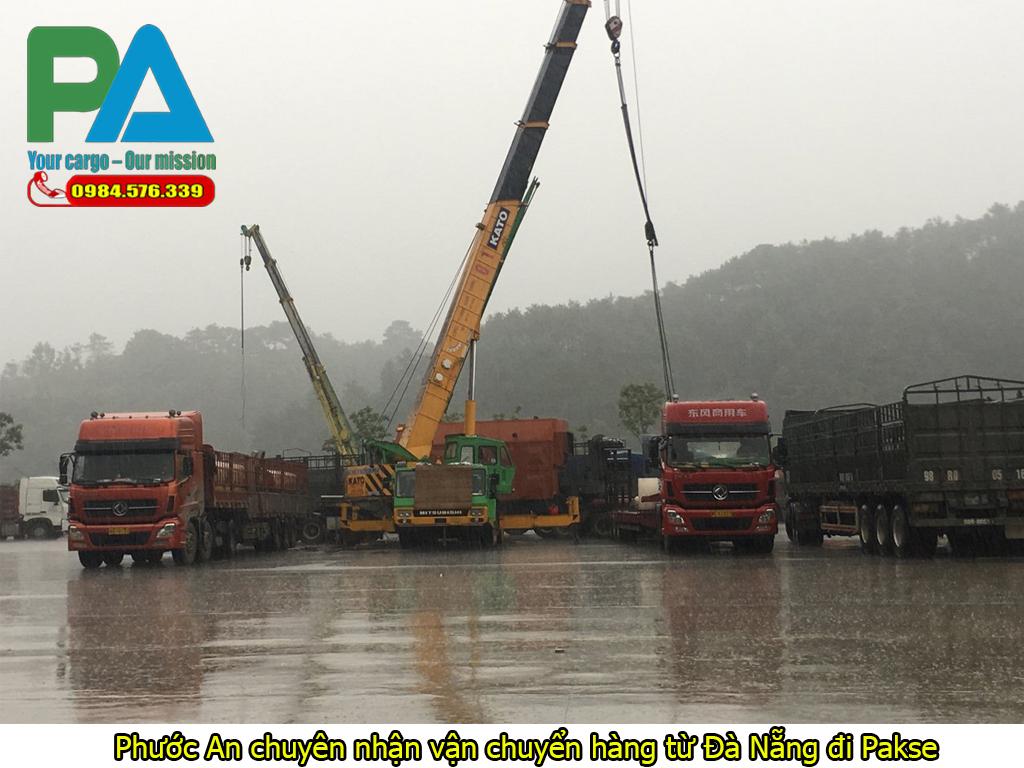 Phước An chuyên nhận vận chuyển hàng từ Đà Nẵng đi Pakse