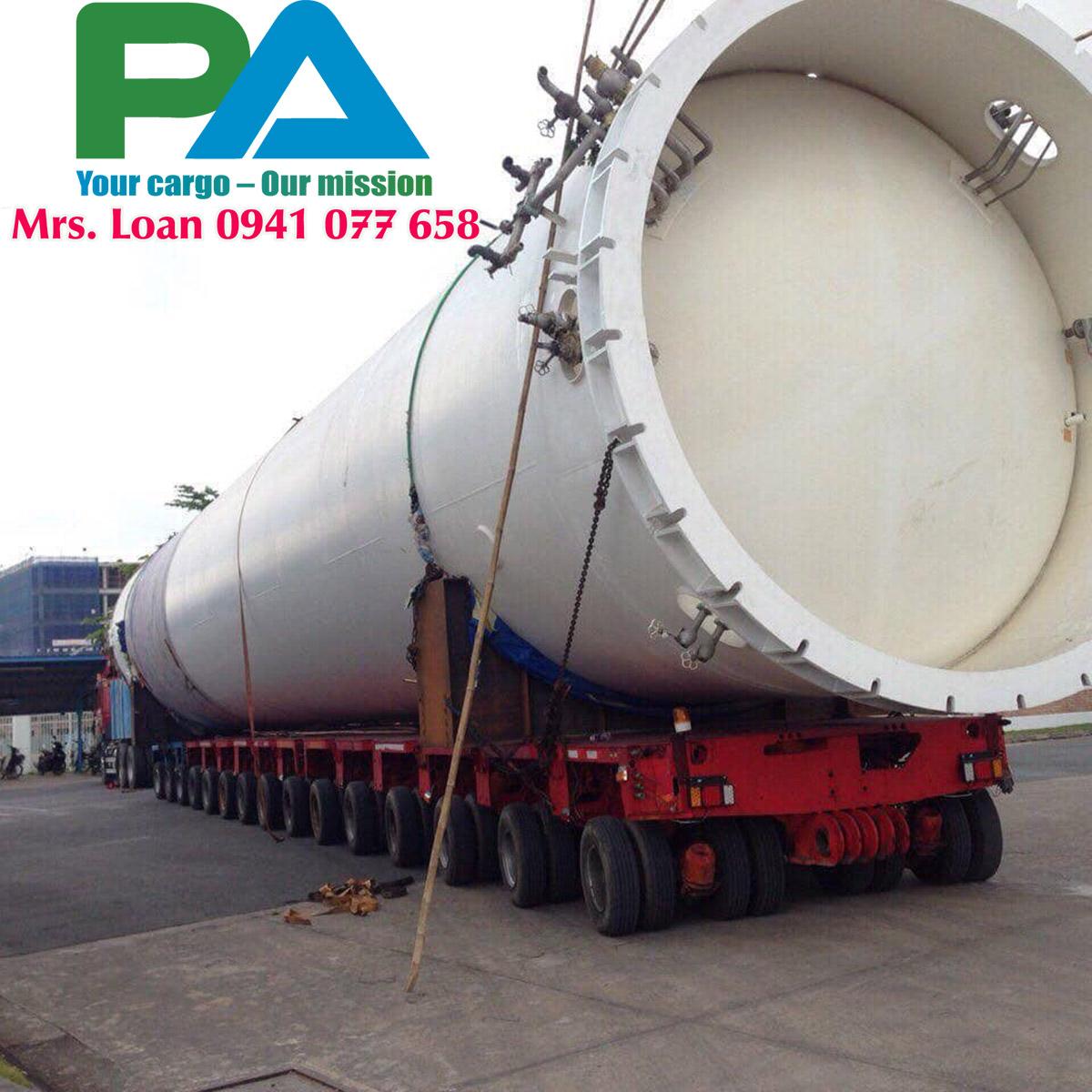 Transport cargo Oversize Overload
