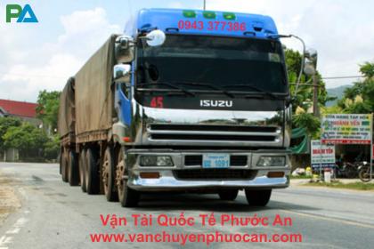 Vận chuyển hàng hóa đi Lào