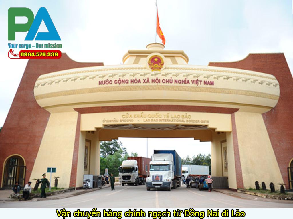Vận chuyển hàng chính ngạch từ Đồng Nai đi Lào