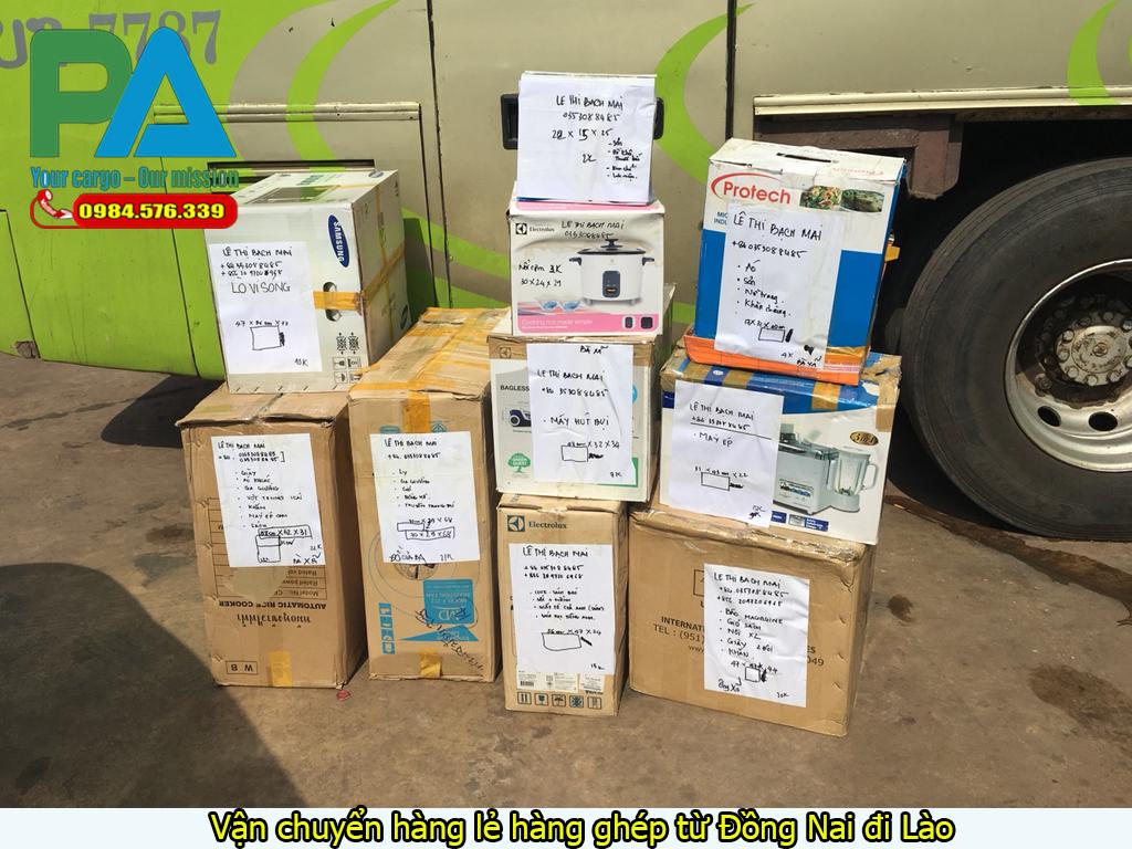 Vận chuyển hàng lẻ hàng ghép từ Đồng Nai đi LàoVận chuyển hàng lẻ hàng ghép từ Đồng Nai đi Lào