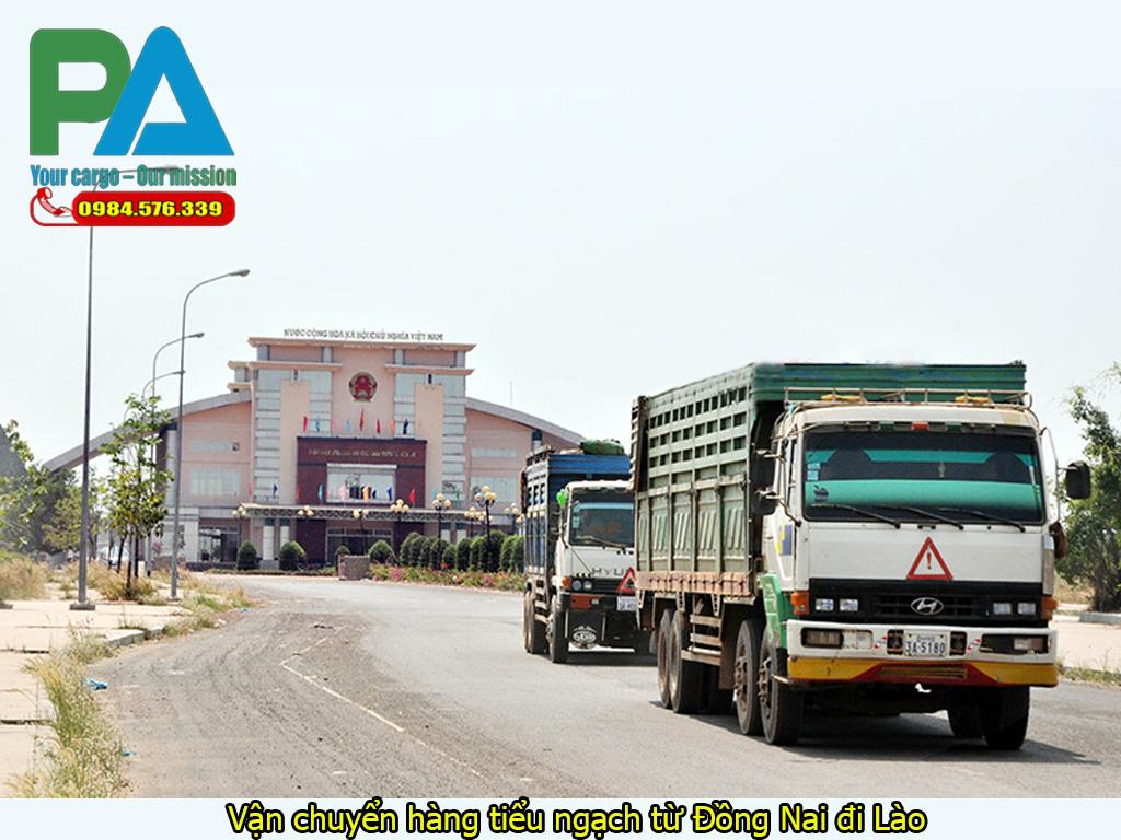 Vận chuyển hàng tiểu ngạch từ Đồng Nai đi Lào