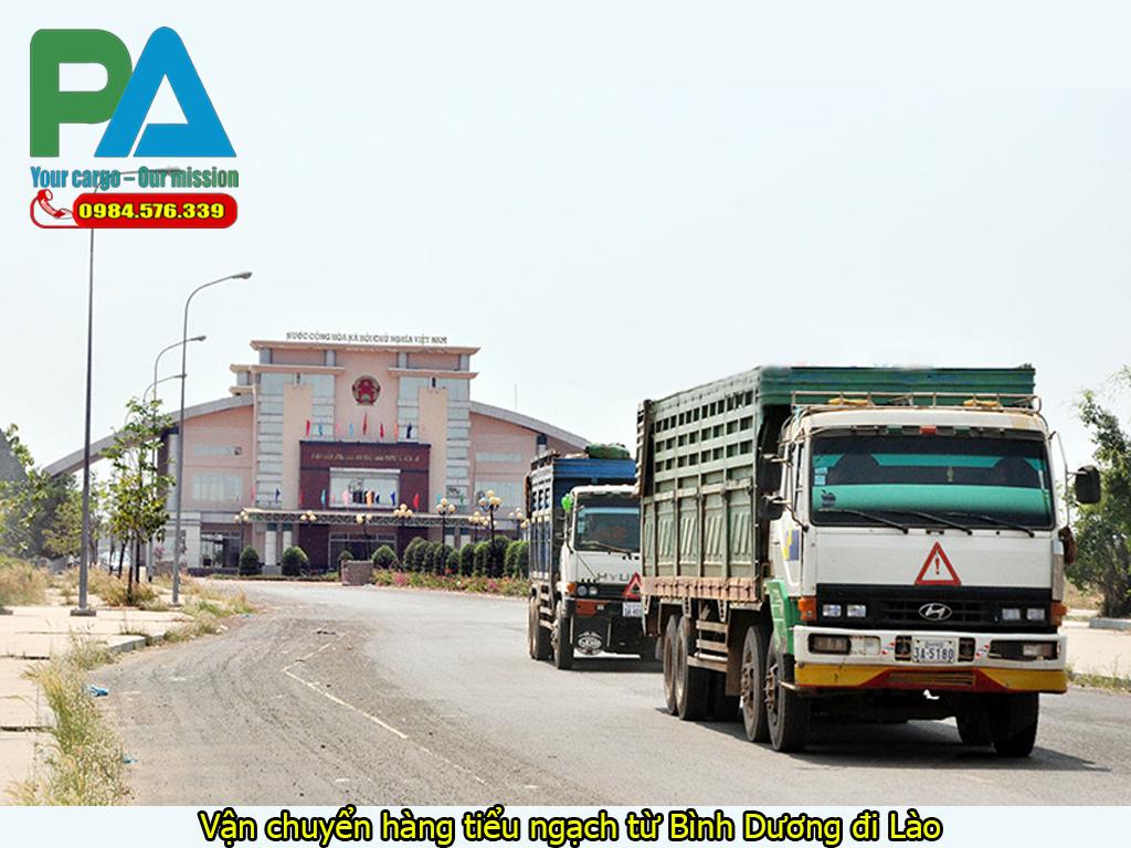 Vận chuyển hàng tiểu ngạch từ Bình Dương đi Lào