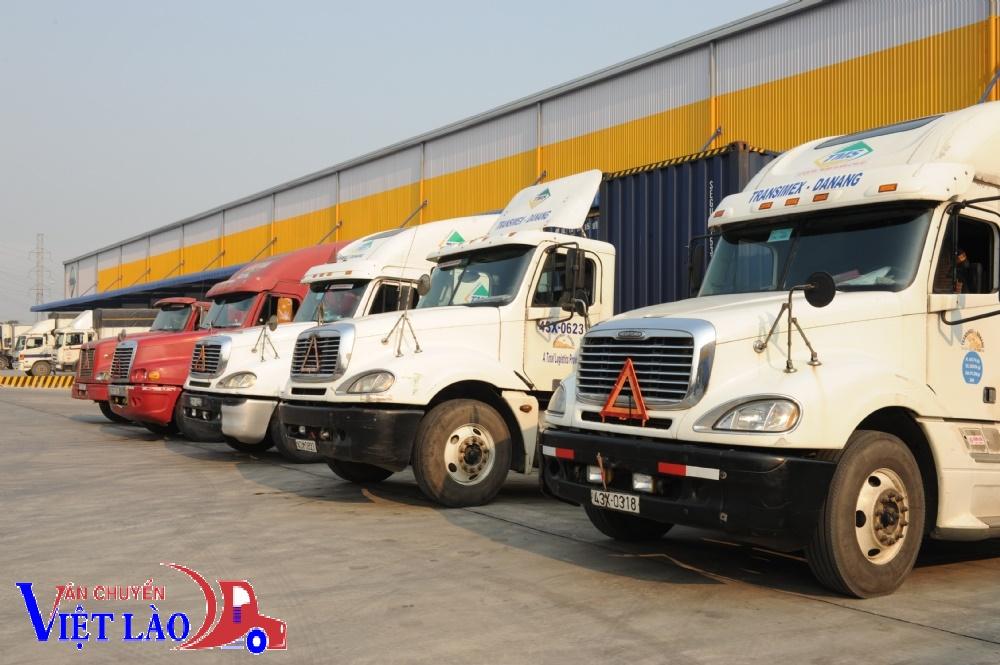Các loại xe được dùng khi vận chuyển hàng Hà Nội – Borikhamxay