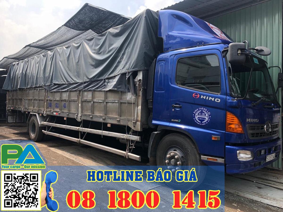 Xe tải chuyển hàng từ sg đi Buôn Hồ