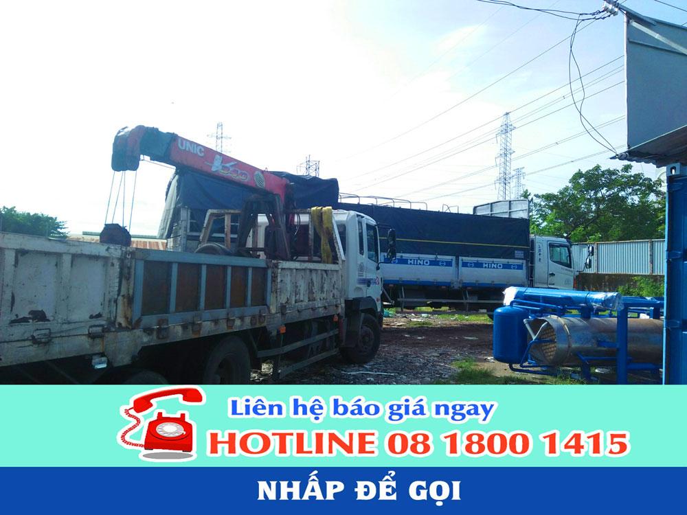 Chành xe gởi hàng đi Campuchia