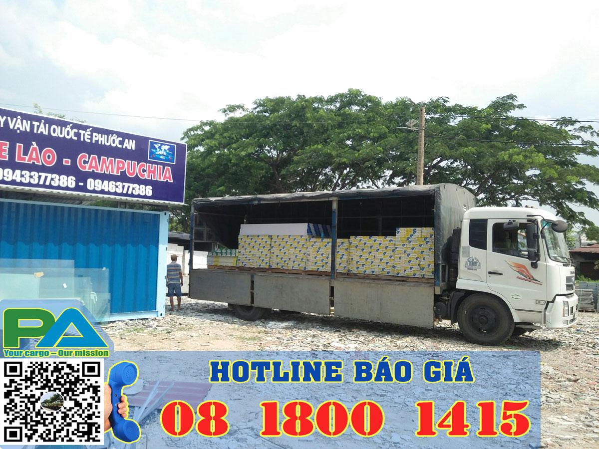 Chành xe Phước An - Chành xe Lào - Chành xe Campuchia