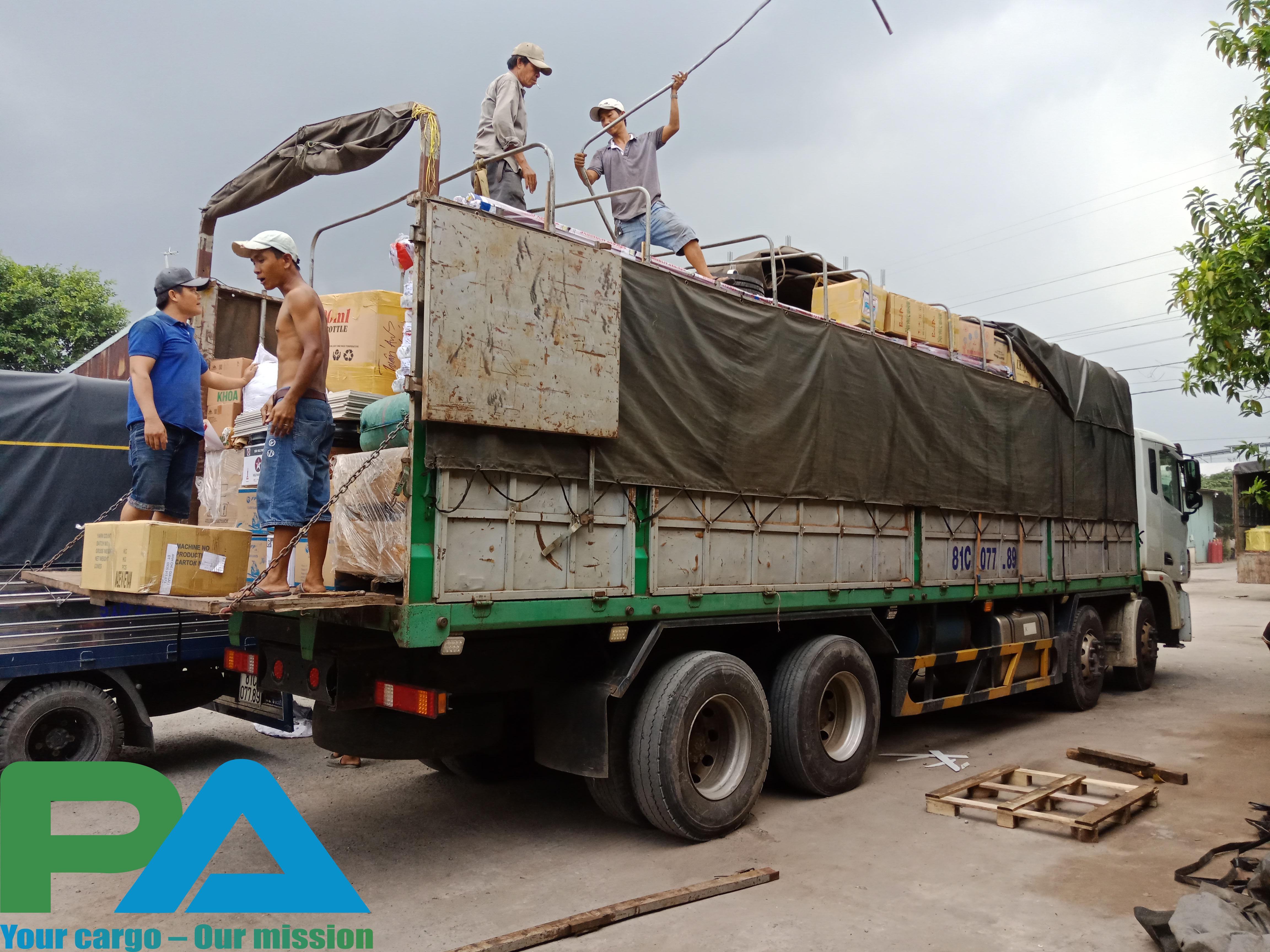 van chuyen hang tu binh duong di Phnom Penh