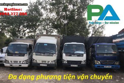 Vận chuyển hàng hóa đi đặc khu kinh tế Bắc Vân Phong