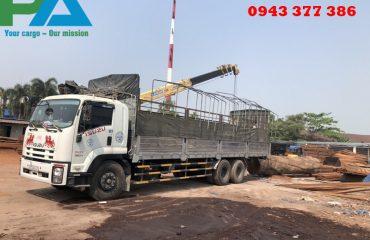 Vận chuyển hàng qua cửa khẩu Lao Bảo