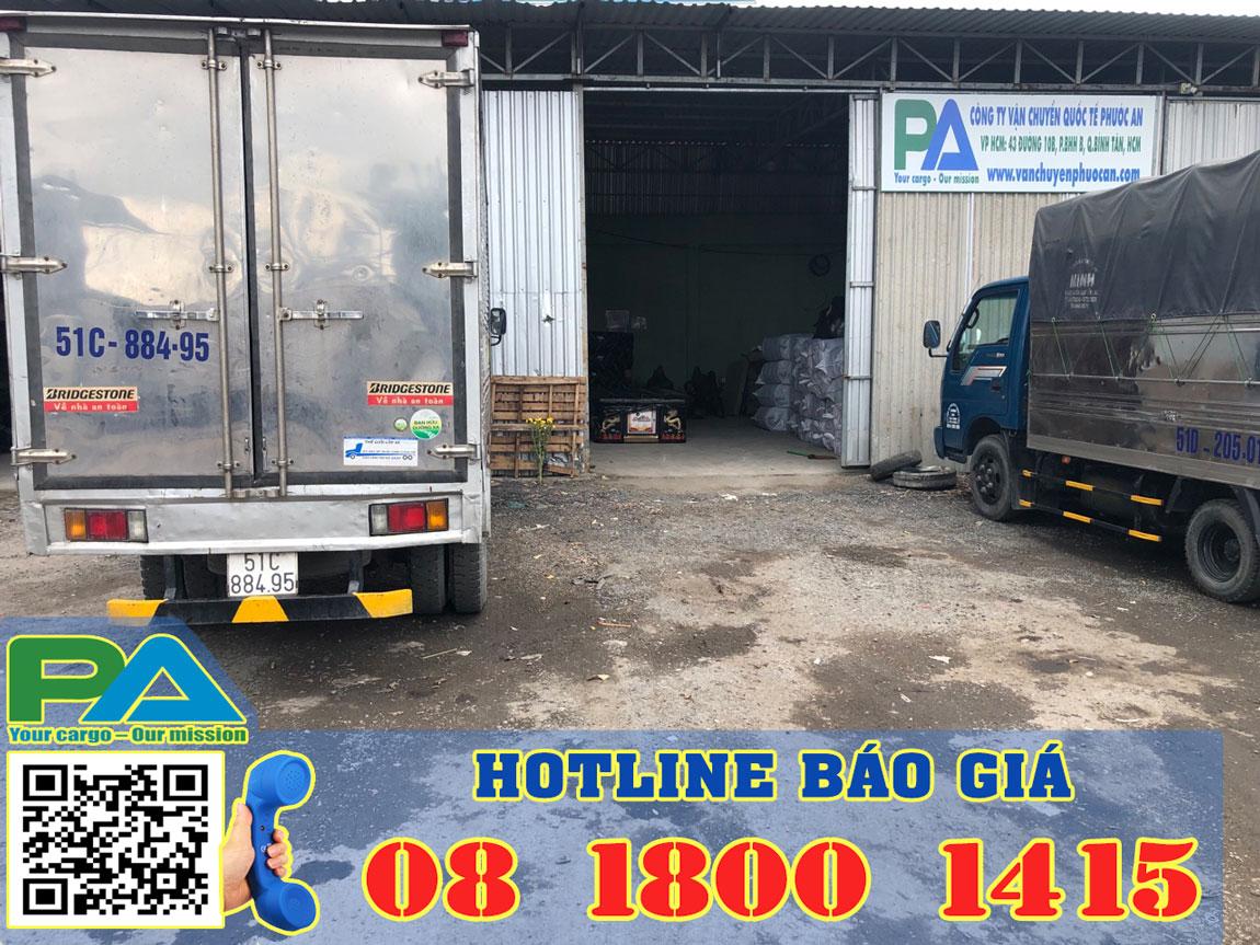 Chành xe tại SG chuyển hàng HN đi Buôn Hồ