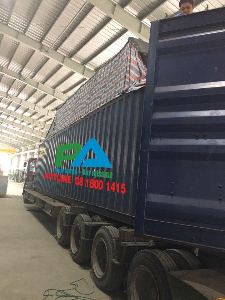 container mở nóc vận chuyển