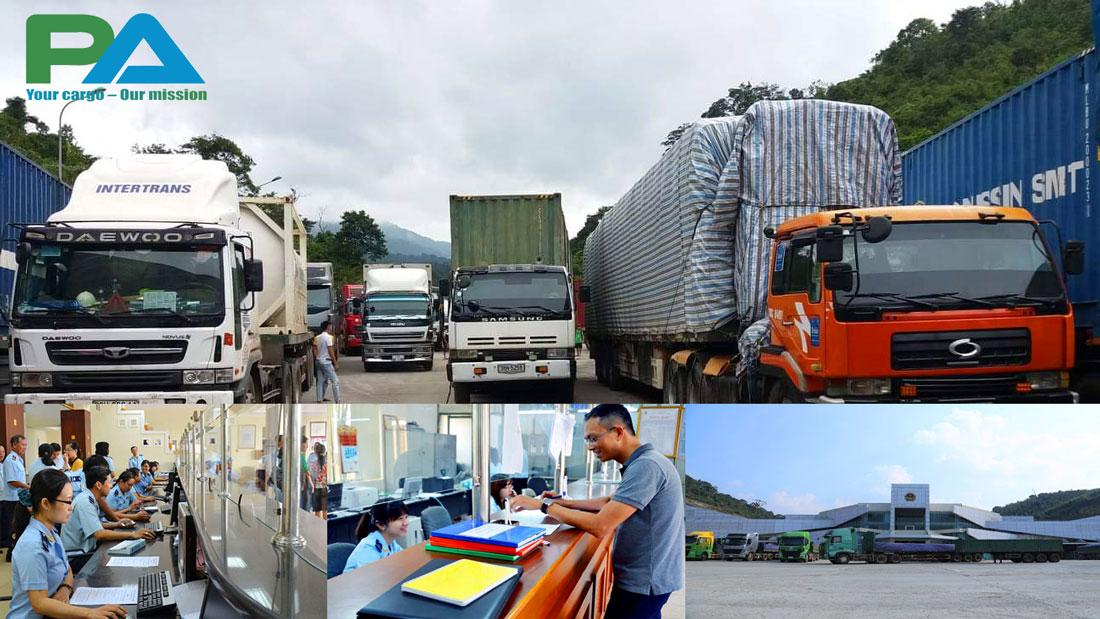Dịch vụ ủy thác xuất khẩu hàng đi Lào