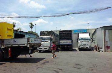 Một số chành xe của Phước An tại Sài Gòn