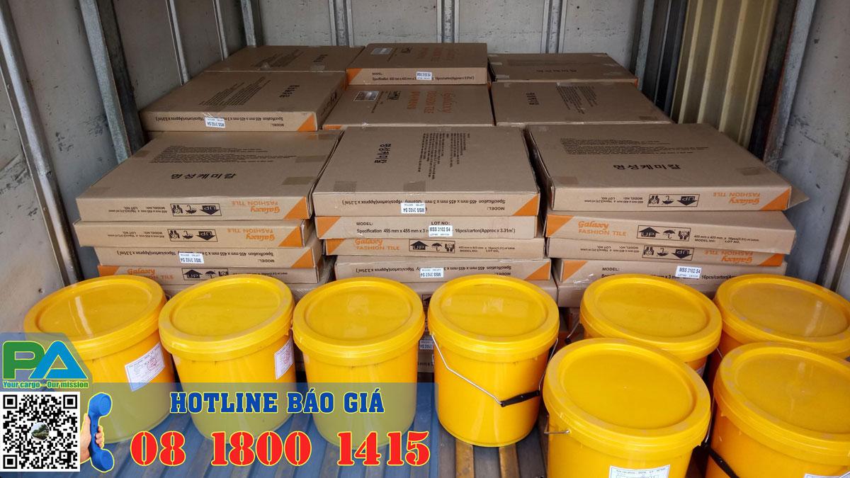 Các loại hàng hóa vận chuyển đi Viêng Chăn Lào