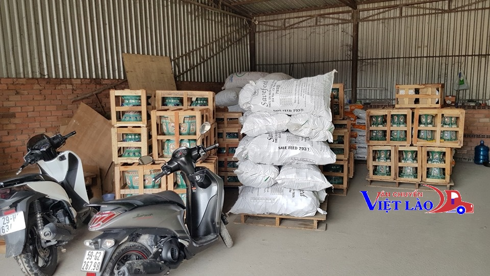 Các loại hàng hóa được vận chuyển hàng hóa đi Sekong Lào