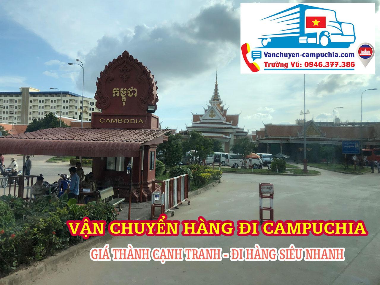 Vận chuyển hàng đi Kampong Cham | Trường Vũ