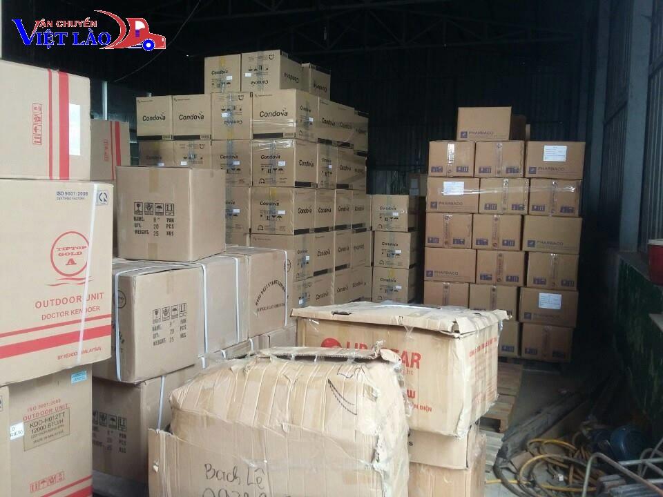 Một số loại hàng hóa được vận chuyển hàng quá cảnh Hải Phòng - Lào