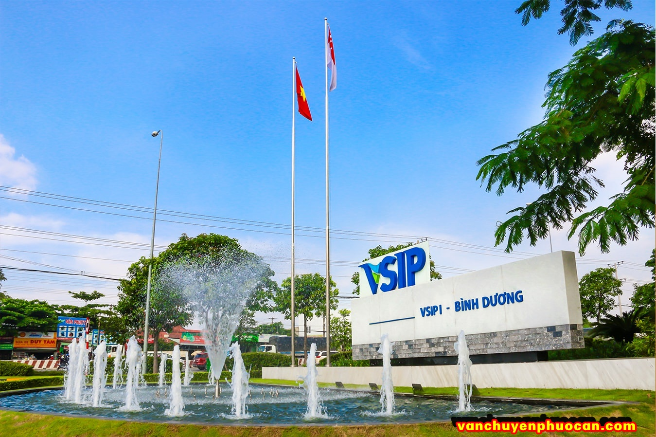 chuyen hang tu KCN VSIP - Campuchia