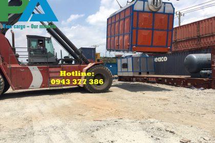 Kéo container đi cửa khẩu Mộc Bài