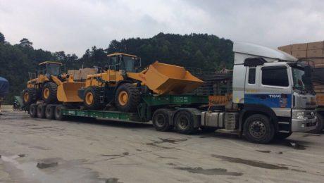 Nhà xe vận chuyển hàng đi xiêng khoảng (Xiang Khouang)