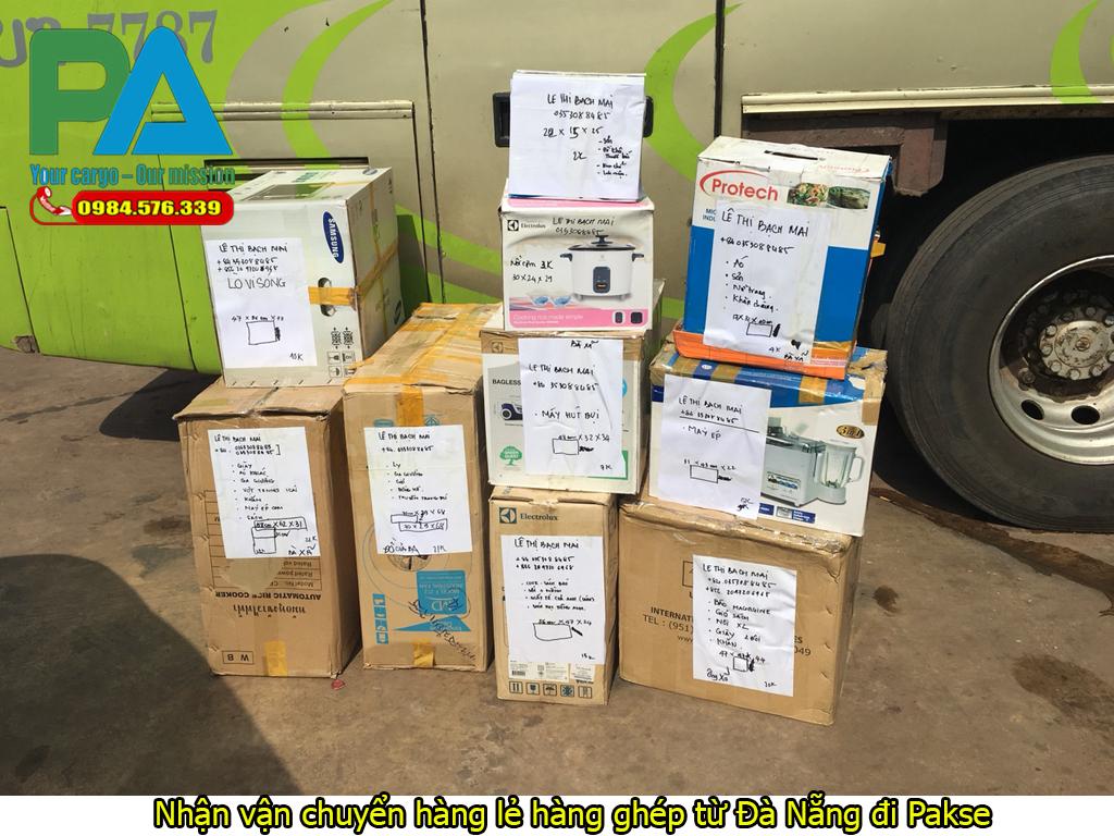 nhận vận chuyển hàng lẻ hàng ghép từ đà nẵng đi attapeu