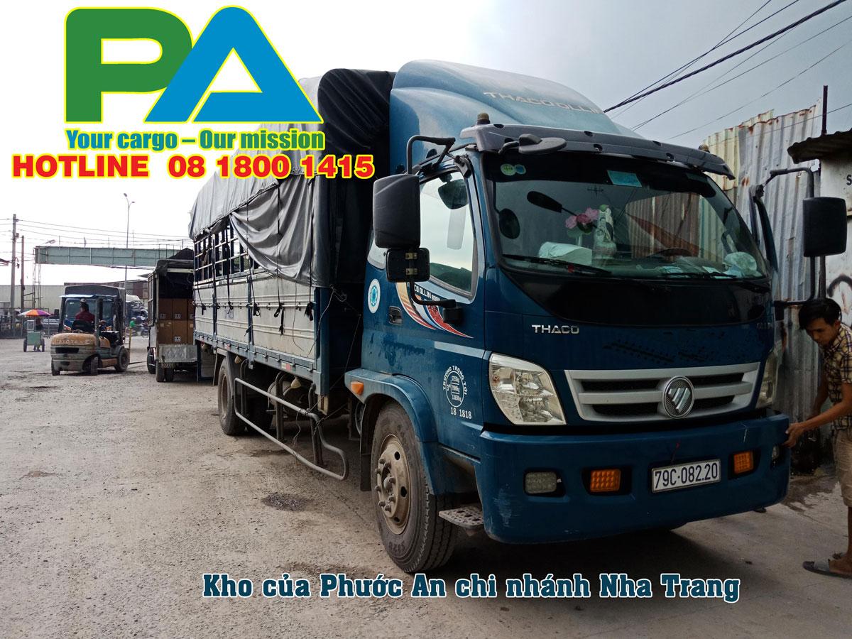 Xe vận chuyển hàng từ Hà Nội đi Nha Trang