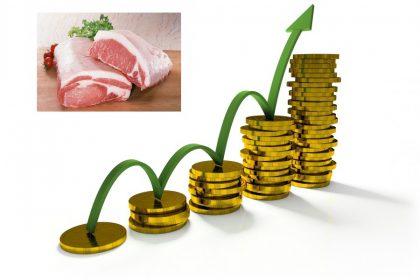 Giá thịt lợn vẫn tiếp tục tăng