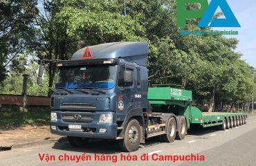 Vận chuyển hàng Hà Nội - Campuchia