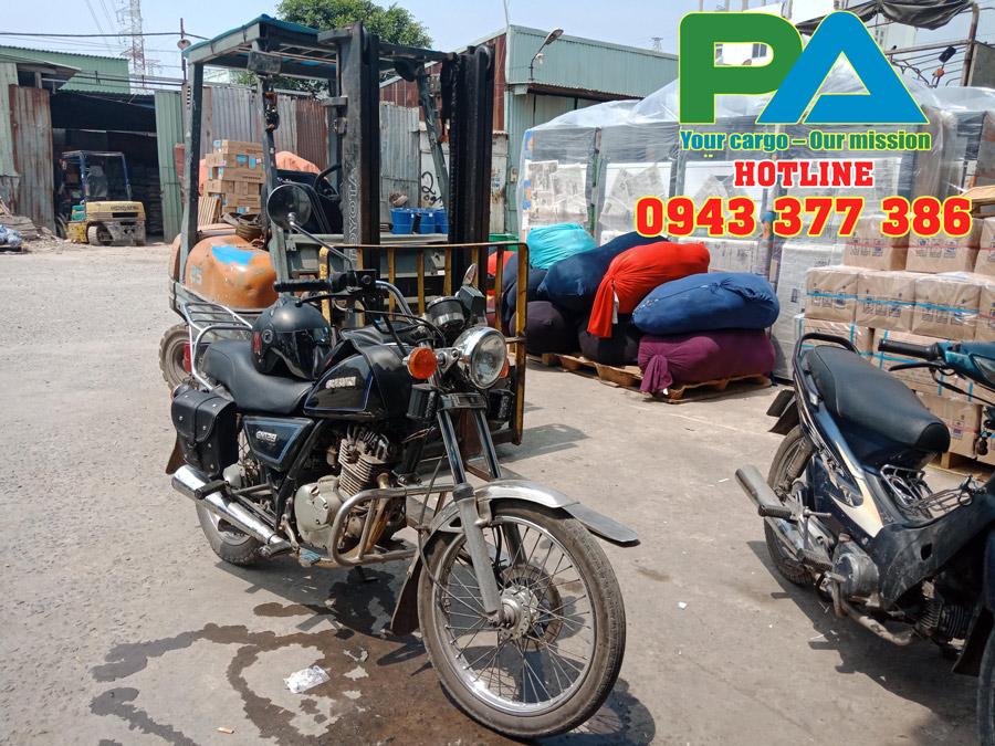 Nhà Kho vận chuyển hàng hóa đi Lào của Phước An tại TP HCM