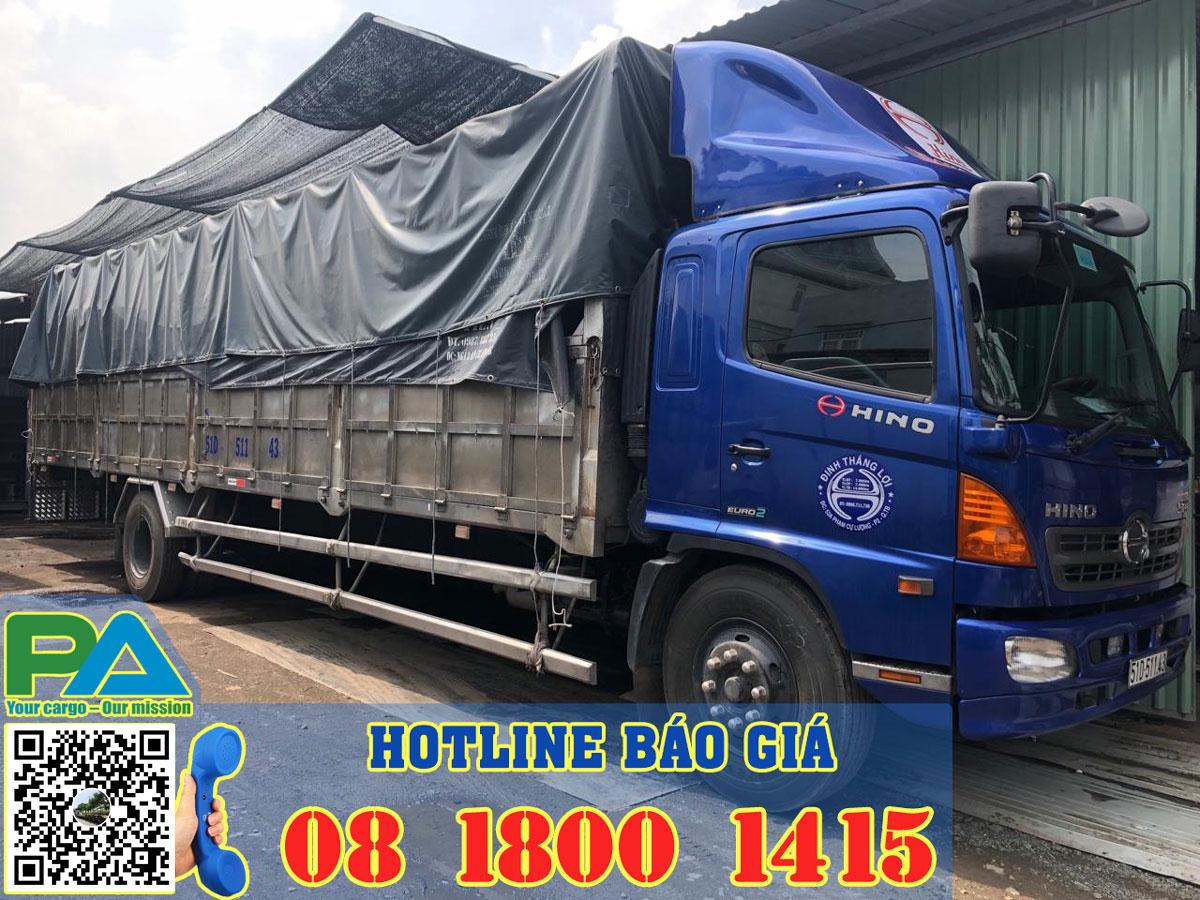 Xe tải chở hàng đi gia lai
