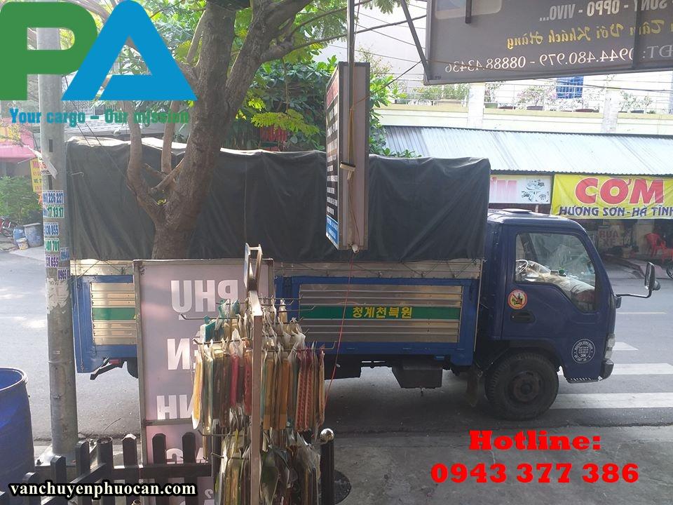 Vận chuyển hàng hóa đi Nha Trang