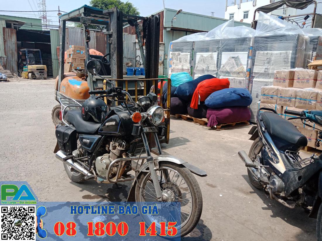 Nhà kho Hà Nội chuyển hàng hóa đi Đà Lạt